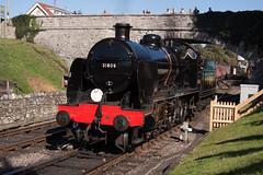 Maunsell U Class 31806 @ Swanage (daveymills31294) Tags: maunsell u class 31806 swanage mogul railway