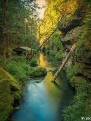 Kamnitzklamm, Tschechien (Springer@WW) Tags: tschechien kamnitzklamm river fluss nature natur europe europa langzeitbelichtung longexposure sony alpha7