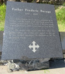 Father Frederic Baraga Marker (Schroeder, Minnesota) (courthouselover) Tags: minnesota mn cookcounty schroeder superiornationalforest nationalforests
