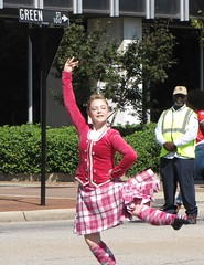 Dancing Scot (Gerry Dincher) Tags: fayetteville cumberlandcounty northcarolina marketsquare haystreet personstreet parade internationalfolkfestival multicultural scot dancing dancingteen