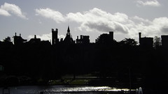 Alton Towers in Silhouette (CoasterMadMatt) Tags: park uk greatbritain november autumn england panorama house english silhouette photography amusement ruins estate photos unitedkingdom britain towers ruin property panoramas panoramic photographs merlin gb theme amusementpark british leisure mansion staffordshire alton grounds themepark touristattraction leisurepark altontowers attraction 2012 ancestral ruined midlands panoramics ancestralhome moorlands staffs themidlands staffordshiremoorlands entertainments earlofshrewsbury altontowersresort coastermadmatt altontowersmansion altontowersestate
