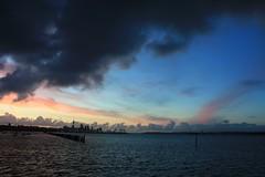 Sunset 1 20121105 (Andym5855) Tags: city sunset sky cloud water harbor cloudy harbour dusk auckland tamaki
