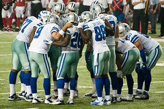 Dallas Cowboys Huddle