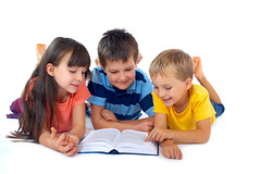 Kids reading book together (Gabriele Academy) Tags: family friends boy white male boys students girl smile smiling kids female children fun happy reading book togetherness kid education friend child buddies friendship brothers sister brother adorable poland indoor siblings buddy read study together blond sharing grin grinning knowledge leisure sibling brunette youngster juvenile information studying affectionate share isolated pupils bonding literacy pleased caucasian delighted caucasians