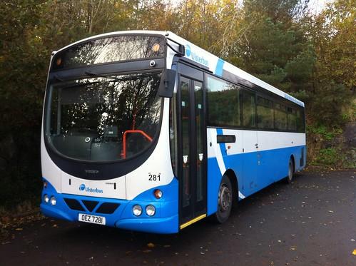 Ulsterbus Volvo 281