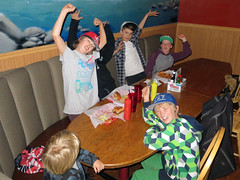 Cool kids table - TAMBA Party 2012 (TAMBA Tahoe) Tags: november party mountain bike year tahoe biking area end association 2012 tamba