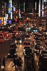 DSC_0583r (Ok Coraline) Tags: city cars night osaka nuit ville voitures mgapole
