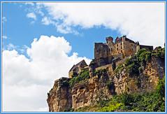 Chteau de Beynac (Runemaker) Tags: sky france castle clouds medieval fortress beynac chteaudebeynac