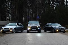 BMW X5, 525i and 525i (EdvinasButkus) Tags: bmw lithuania 525i x5 523i e39 edwinb zeromaster22