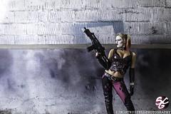 Rebecca Greening as Harley Quinn (SCG Official) Tags: girls sexy dc cosplay batman dccomics harleyquinn batmanarkhamcity sexycosplaygirls simontrussell rebeccagreening