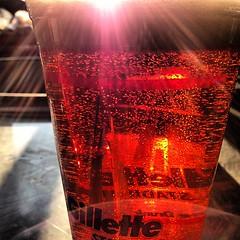 #Sun through #beer