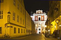 Poznan Parish Church (Explore 11/12) (doveoggi) Tags: church night poland poznan wielkopolska 0231