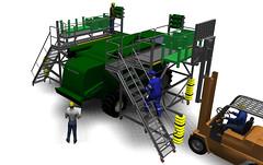 Combine Assembly Platform