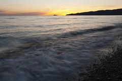 Sunset, Lake Superior (camillaskye) Tags: longexposure sunset canada landscape lakesuperior