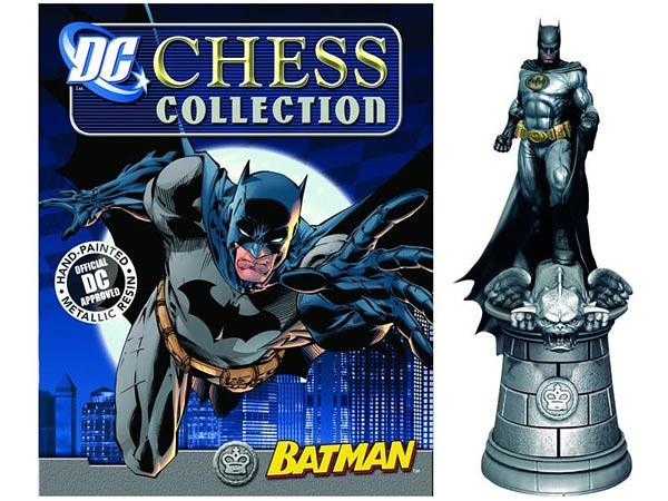 DC超級英雄蝙蝠俠角色西洋棋收藏雜誌