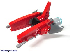 Curves (Masked Builder) Tags: lego scifi moc vicviper