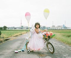 Marry Me (Toyokazu) Tags: family wedding portrait girl beautiful kids child photogenic pentax67