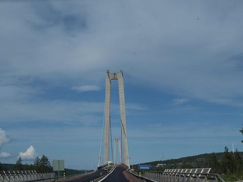 Schweden - E4 - Höga Kusten - Bottenhavet - Brücke
