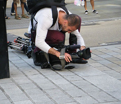 Filming Al Quds 2012 (Kombizz) Tags: people london feet tattoo poster israel legs wallet palestine tripod banner photojournalism flags demonstration zionism redpants mayfair holyland filmmaker placard journalist americanembassy palestinian occupation grosvenorsquare videomaker aov 6424 lowerangle ihrc ayatollahruhollahkhomeini imamkhomeini qudsday islamichumanrightscommission kombizz palestinanflag alqudsdaydemonstration qudsday2012 zionistoccupation alqudsday2012 w1a2lq filmingalquds2012