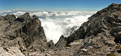 Inversion, Brenta Dolomites (Iestyn Roberts) Tags: italy italian dolomites cloudinversion brentagroup