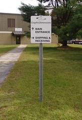 Exterior Corporate Identity & Wayfinding Signage