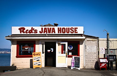 eat at red's (thermophle) Tags: sanfrancisco california house restaurant java baseball giants reds