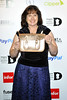 Julie Deane at the Drapers Fashion Awards at Grosvenor House. London