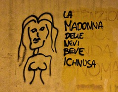 Pisa Nuoro (pineider) Tags: sardegna cold graffiti donna sardinia pisa toscana inverno freddo disegno pecorino murale pisano ichnusa nuoro aio