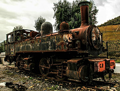 Choo Choo (PMTN) Tags: portugal rust steam locomotive cp ferrugem vapor locomotiva comboiosdeportugal e170 castanheiro carrazedadeansies estaodotua