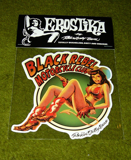 "Erostika - ""BLACK REBEL MOTORCYCLE CLUB"" 週邊產品"