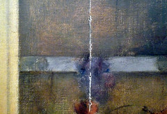 Fernand Khnopff, I Lock the Door Upon Myself, detail with chain