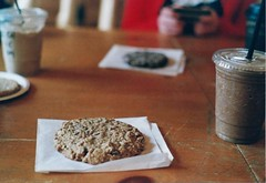 (askinganimal) Tags: food film coffee cookie pentaxk1000