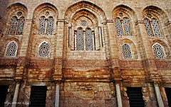 Windows (amie.andari) Tags: old building architecture egypt mosque cairo historical islamicarchitecture