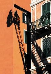 Arrivano i pompieri (meghimeg) Tags: shadow sun building casa ombra explore firemen sole 2012 facciata pompieri savona