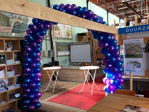 Ballonboog 8m Stichting Duurzame Scholen Rotterdam
