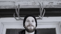 That's quite a rack.. (maplemusketeer) Tags: portrait friend angus antlers rack maplemusketeer
