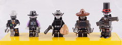 The Black Hole Gang (Hammerstein NWC) Tags: wild sun cowboys robot lego space badass gang claw scifi npr wildwest outlaw blaster npu sixshooter