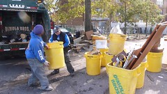 Queens NY curbside bulk pickup from hurricane damage (The Trash it Man) Tags: hurricane cleanup howardbeach hurricanecleanup flooddamagecleanup hurricanesandy sandyaftermath hurricaneflooddamage