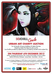 SoChill Circle Urban Art Charity Auction - Manchester (jerforeone) Tags: