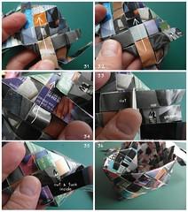 Heart Box Tutorial 6/6 (Dasssa) Tags: origami heart box weaving tutorial paperstrips dasssa