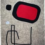 "<b>Painting, 1933 (after: Joan Miro)</b><br/> Rebecca Kamm (Art Quilt, 2011)<a href=""http://farm9.static.flickr.com/8350/8242703478_7f84807b26_o.jpg"" title=""High res"">∝</a>"