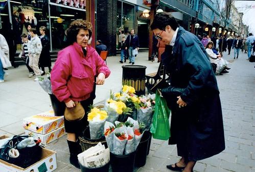 Flower Seller Argyle Street, 1990s