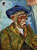 MONKEY van GOGH (The PIX-JOCKEY (visual fantasist)) Tags: portrait art photoshop painting monkey joke smoke pipe fake humour fantasy painter vip ape photomontage chop caricature ritratto vangogh artisticmanipulation robertorizzato photoshopcreativo pixjockey
