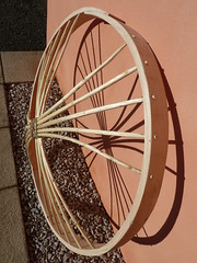 "Yurt Crown Wheel • <a style=""font-size:0.8em;"" href=""http://www.flickr.com/photos/61957374@N08/8245183468/"" target=""_blank"">View on Flickr</a>"