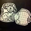 animal zentangle (Dinoh Power) Tags: dog fish sticker stickerart drawing stickers db gucci doodle trade lv dooneyandbourke fendi luisvuitton namebrand stickertrade stickerslaps stickertrades zentangle stickerporn donneybourke