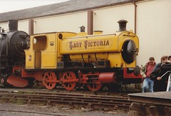 NCB Newtongrange 0-6-0ST No. 3 Lady Victoria (BillPenang) Tags: industrial railway steam boness barclay