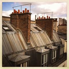 Parisian roofs