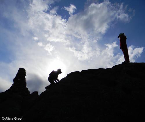 Photo - Taking the Summit
