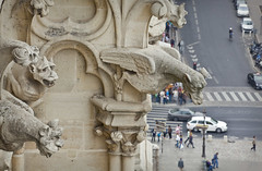 (Matilda Diamant) Tags: city sculpture paris france church architecture french cathedral capital gargoyle notre dame chimera rusalka