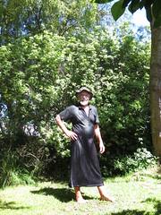 Glistening wet in the sun. (Jack Williams) Tags: wet fun freestyle frolic auckland dresses fashions wetlook skirted meninfrocks frocks frolics menindresses mandress wetguy